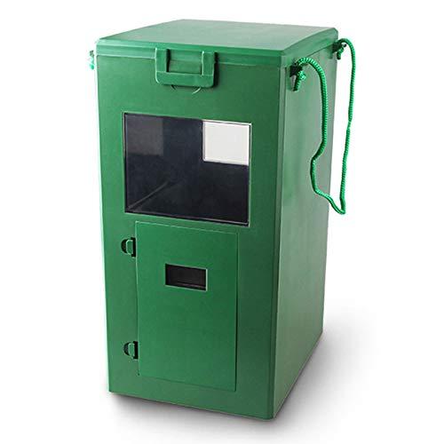RUIXFLR 3L Koi Fish Feeder Automatic Timing Aquarium Feeding Food Dispenser for Outdoor Garden Pond