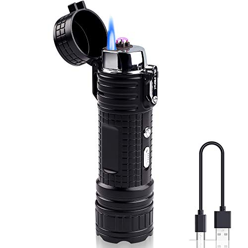 Funxim Electric Lighter, Ignition and Lighting 2 in 1 USB...