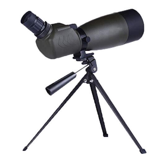 PIGE 25-75 * Spotting Scope, Cible d'observation de Vision Nocturne HD extérieure, Prisme BAK4, Revêtement FMC, pour Le Tourisme d'observation des Oiseaux