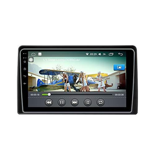 Android 10 Autoradiografía Navegación de automóviles Estéreo automático Unidad de Control Principal Reproductor Multimedia Sistema Mundial de determinación de la posición Radio ParaMahindra Marazzo