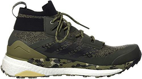 adidas Herren Terrex Free Hiker Cross-Trainer, Mehrfarbig (Caqpur/Negbás/Star De 000), 45 1/3 EU