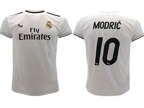 Real Madrid Luka Modric Fußball Trikot Offizial Kinder Junge Manner 2018-2019 (M)