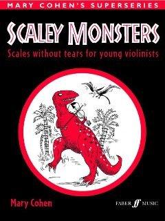 SCALEY MONSTERS - arrangiert für Violine [Noten / Sheetmusic] Komponist: COHEN MARY