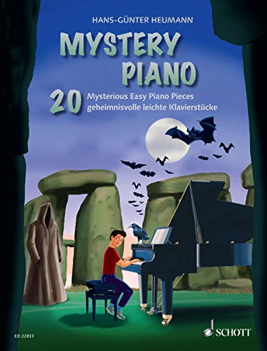 Mystery Piano: 20 Mysterious Easy Piano Pieces (English Edition)
