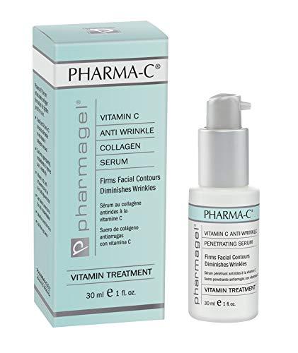 Pharmagel Pharma-C Vitamin Serum   Age Defying Facial Serum   Anti-Wrinkle Face Serum & Anti-Aging Serum for Whitening Skin   Age Spot Remover for Face - 1 oz