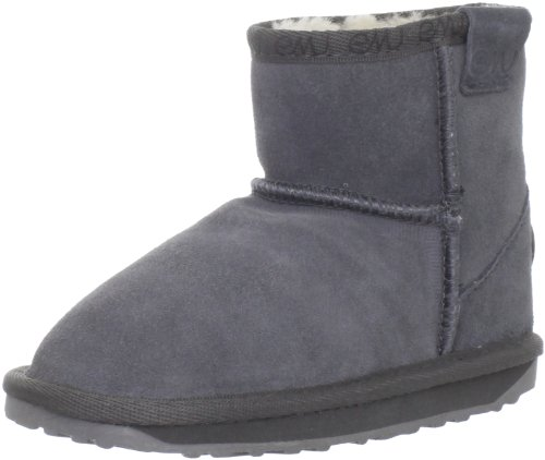 EMU Australia Wallaby Mini Boot (Toddler/Little Kid/Big Kid),Charcoal,9 M US Toddler