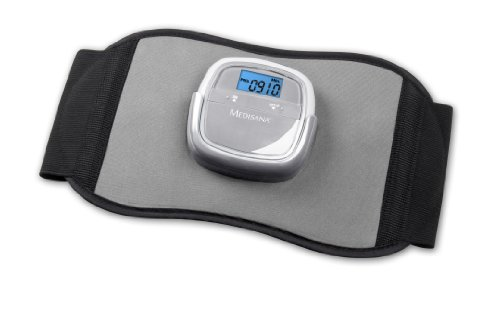 Medisana 88320 - Cinturón abdominal para electro estimulación muscular, color negro