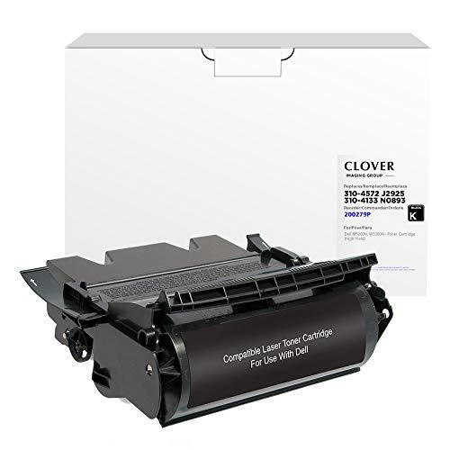 Price comparison product image Clover Remanufactured Toner Cartridge for Dell 310-4131,  X2046,  310-4133,  W2989,  310-4132,  D1853,  310-4134,  D1851 / Black