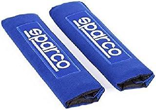 SPARCO Seat Belt Pads Set, Blue, SPC1205BL