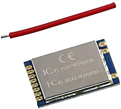 G-NiceRF 1PCS RF2401F20 2.4GHZ Nordic nRF24L01+ with PA Power Amplifier RF Module CE,FCC,ETSI with PA