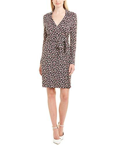 Diane von Furstenberg Womens Jeannie Silk Wrap Dress, 0