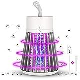 Lámpara Antimosquitos Eléctrico, LED Mosquito Lámpara Trampa, USB Recargable Aparato Antimosquitos para Hogar, Cámping, Matar Mosquitos, Moscas, Polillas, Insectos