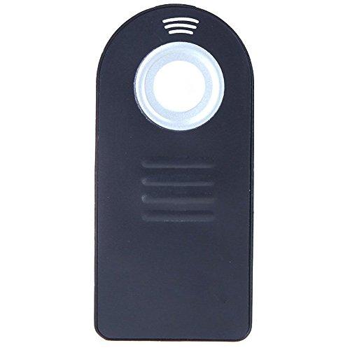 TOOGOO(R)Zapata Cubierta de proteccion + IR inalambrico disparador de infrarrojos del mando a distancia para Nikon Negro