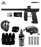 Empire Mini GS Tournament Elite Paintball Gun Package B - Dust Black/Gold