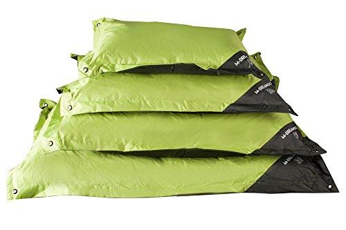 Natuna mpets eiland-zitkussen outdoor voor honden groen/grijs 140 cm maat XL