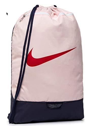 Nike Nike Brasilia Gym Sack - 9.0, Echo Pink/University Red/Dynamic Yellow, Misc