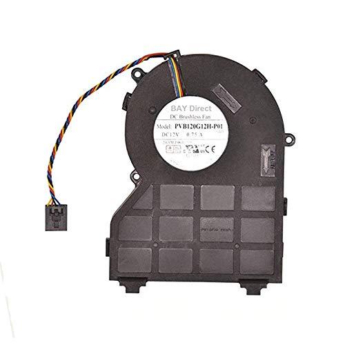 FCQLR Foxconn PVB120G12H-P01 J50GH-A00 J50GH 0J50GH 12V 0.75 4Wire Compatibles para DELL...