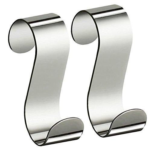 XXXL Handtuchhaken, Silber, 4x6,4x10 cm, Metall