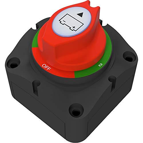 Offgridtec® Batteriväljare för att byta två battericirklar, konsumenter, laddningskällor 175A M10