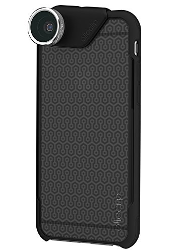 olloclip OC-0000113-EU 4-in-1 Photo Lens + olloCase for iPhone 6 Plus and 6s Plus - Lens: Silver/Black - Case: Matte Smoke/Black OC-0000113-EU