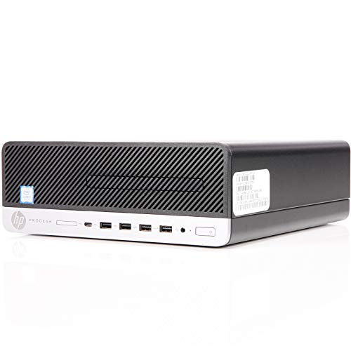HP ProDesk 600 G5 SFF | 3 Jahre Garantie | Intel i7 8700 bis 4.60 | 32GB RAM | 512GB SSD | kein DVD | Win10 Pro | G Data Internetsecurity | Acronis True Image (Generalüberholt)