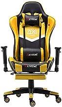extreme zero gaming chair yellow