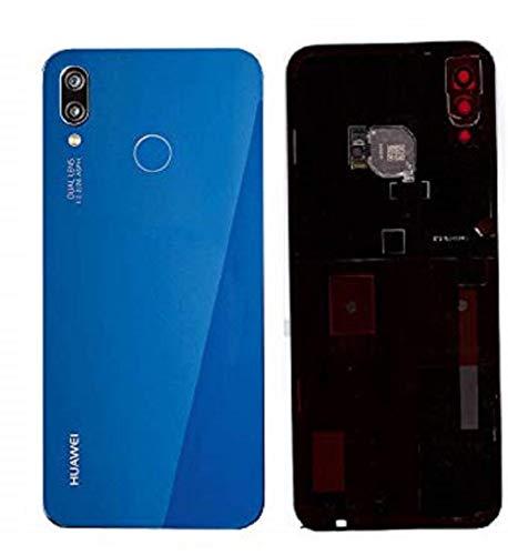 Coperchio della batteria, parte posteriore, coperchio della batteria per Huawei P20 Lite Blu / Sensore/pellicola adesiva
