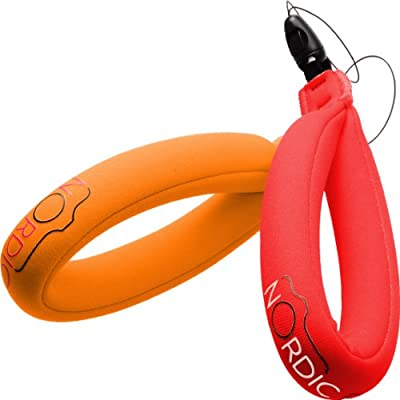 Nordic Flash Waterproof Camera Float - Pack of 2 - Red & Orange from Nordic Flash