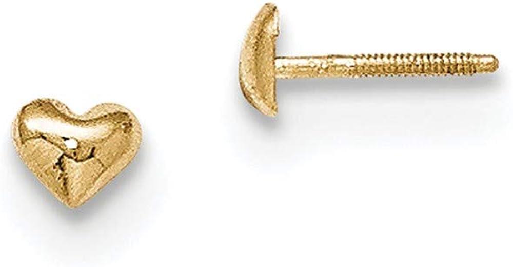supreme 14K Madi K Post Earrings Heart Award-winning store