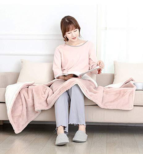 miwaimao Almohadilla de calefacción, manta eléctrica para el hogar, manta térmica chal,...