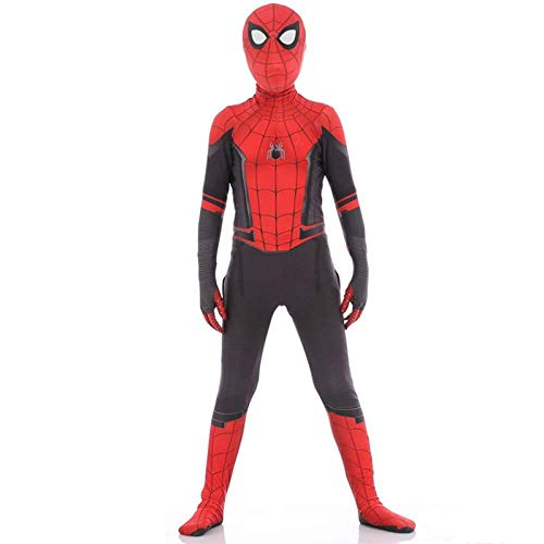 Spiderman Kostuum Kind Volwassen Cosplay Kostuum Superhero Halloween Onesies Thema Party Spandex Panty 3D Printing Carnaval 100 Kind