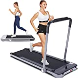 FUNMILY 2 in 1 Under Desk Treadmill for Walking & Running, Compact Electric Folding Home Treadmill...