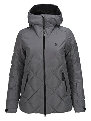 Peak Performance W Alaska Melange Ski Jacket Grau, Damen Isolationsjacke, Größe M - Farbe Grey Melange