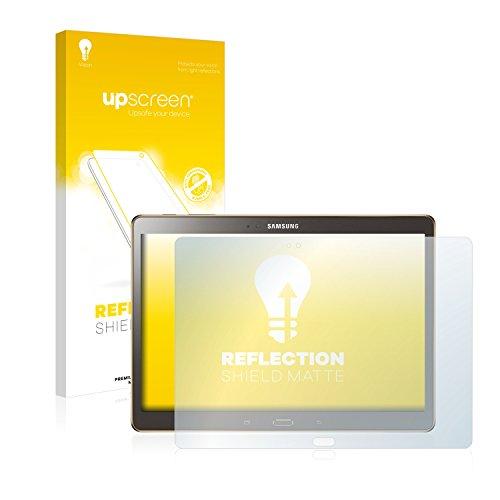 upscreen Entspiegelungs-Schutzfolie kompatibel mit Samsung Galaxy Tab S 10.5 SM-T805 – Anti-Reflex Bildschirmschutz-Folie Matt