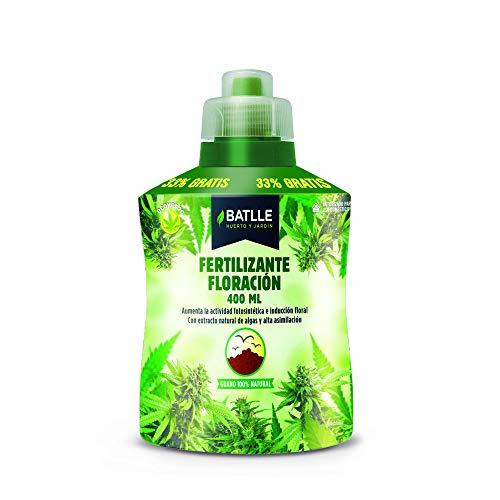 Semillas Batlle 710863UNID - Fertilizzante Ecoyerba per fioritura, 400 ml