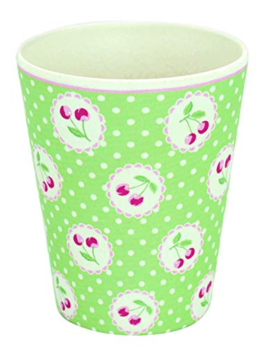 GreenGate - Becher - Cup - Cherry/Kirsche - Melamin - 300 ml