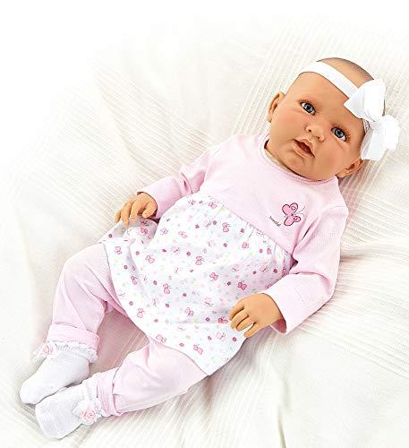 Doro Doll Babypuppe Kristina 52 cm mit weichem Stoffkörper