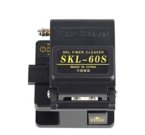 Goeco Utensile da taglio per fibre FTTH, Mannaia per fibre SKL-60S, Mannaia per fibre...