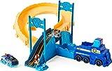 PAW PATROL with Die-Cast Vehicle, Scale True Metal Rescue Track Set con Exclusivo vehículo Chase a presión, Escala 1:55 (Spin Master 6060297)