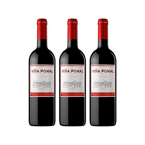 Viña Pomal | Vino Tinto Crianza 2015 Viña Pomal | Medalla de Plata Mundus Vini - 2017 | D.O.Ca. Rioja | Caja de 3 botellas de 75 cl