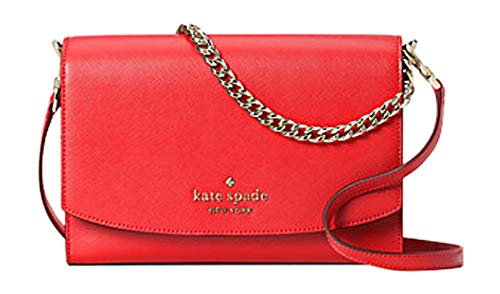 Kate Spade Carson Convertible Crossbody Handbag (Digital RED)