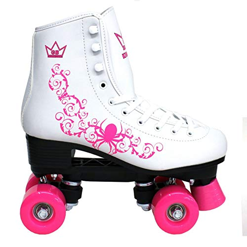Kingdom GB Patines de Ruedas Vector Quad Wheels Rosado señoras 37 EU