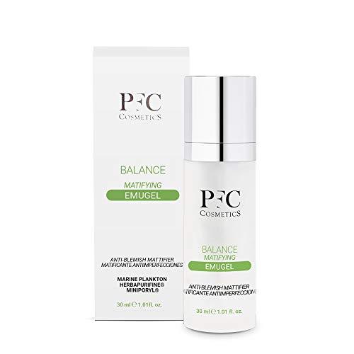 PFC Cosmetic Gel Idratante per Pelle Grassa Balance Matifying Emugel 300ml, con Miniporyl, Herbapurifina, Avocado, Plancton Marino, Hydroviton e Vitamina C+ Complex, per la cura della pelle.
