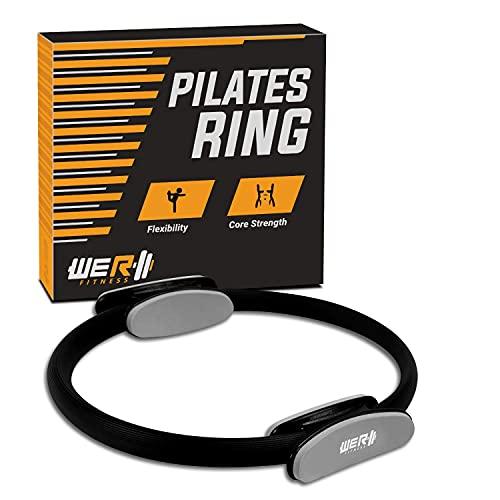 We R Fitness Pilates-Ring mit zwei Griffen, ideal für Yoga, Rumpftraining, Physiotherapie, Fettverbrennung, Bauchmuskeln und Beine.