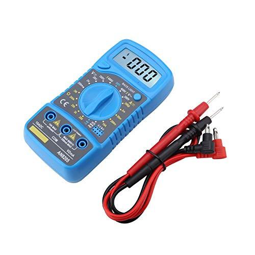 ANENG AN8205 Professionelles Digital Multimeter Tragbares LCD Voltmeter Multifunktions Amperemeter AC/DC/OHM Volt Stromprüfgerät mit Überlastschutz
