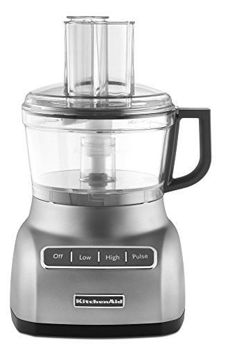 KitchenAid RKFP0711CU 7-Cup Food Processor  - Contour Silver (Renewed)