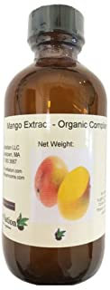 OliveNation Premium Mango Extract - 4 ounces - Gluten-free and Sugar-free - Premium Quality Flavoring Extract For Baking
