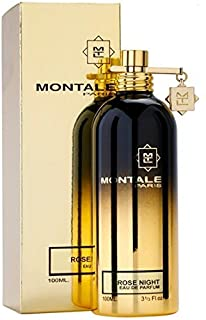 100% Authentic MONTALE ROSE NIGHT Eau de Perfume 100ml Made in France