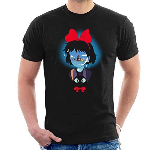 Kiki's bezorgservice op bezem heren T-shirt