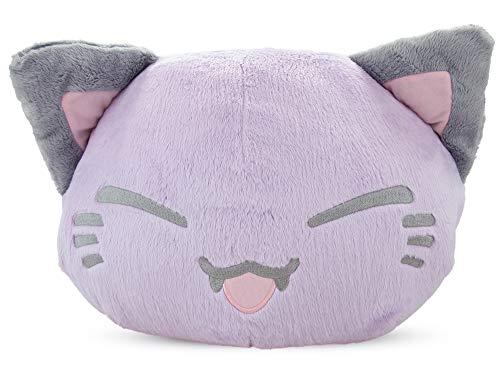 Nemu Nemo Neko Kuscheltier Katze - Manga Anime Otaku Kawaii Stofftier - Plüschtier Plush Cat Katze Merchandise zum Kuscheln Original aus Japan Höhe 25cm und Breite 34cm
